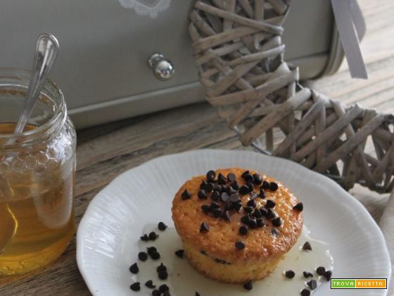 Mini tortine cioccolato e miele