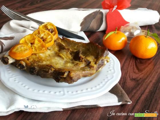Costine glassate alle clementine – idea per il pranzo di Natale