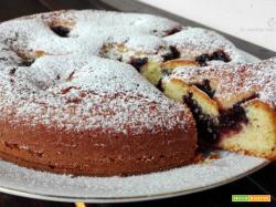 Torta morbida alla robiola con marmellata