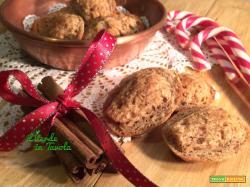 Madeleines vegane con mandorle, cannella e zenzero