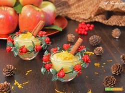 Dessert Veg alle mele ed arancia aromatizzato alla cannella