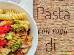 Pasta al ragù di broccolo romanesco di Laura Ravaioli