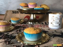 Muffins con scaglie di cioccolato