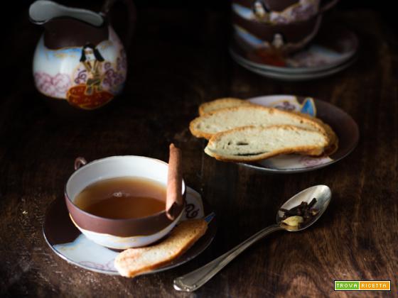 Tè alle spezie e Baicoli insieme a Marco Polo