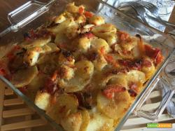 Baccalà peperoni e patate: buonissssssssss...