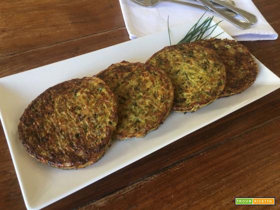 Hamburger di broccoli e zucchine
