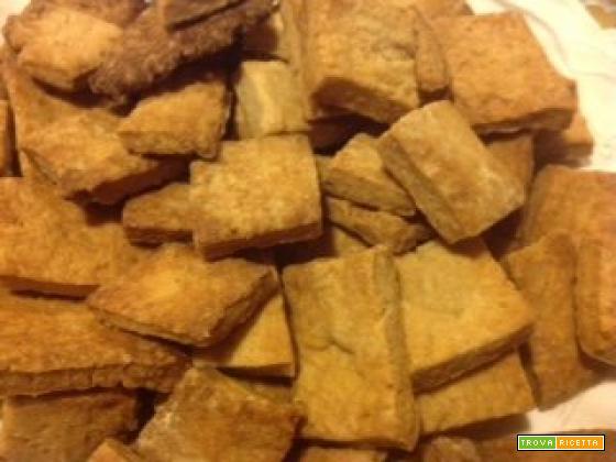 biscotti al vino rosso, con farina, olio, zucchero e nient'altro!