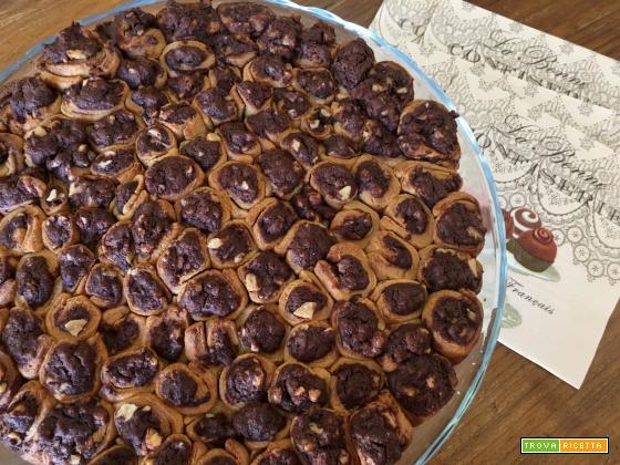 Nido d'api - dolce di biscottini al cioccolato e noci