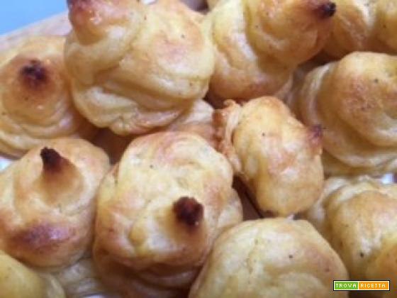 Patate duchesse del Talismano della felicità: ciuffetti abbronzati in forno