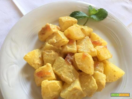 patate in salsa di marmellata