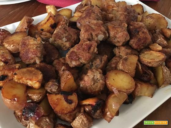 Polpette e patate al forno per principianti
