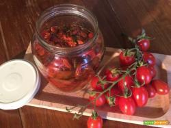 Pomodorini aromatici al forno - condimento per la pasta