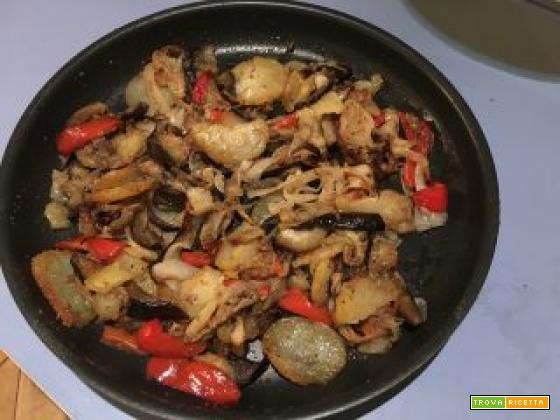 Mix perfetto di verdure cotte al forno