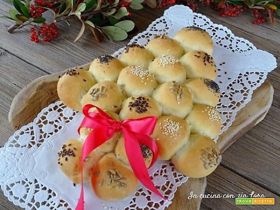 Albero di Natale di pane idea regalo