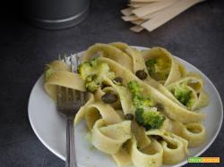 Pappardelle alla crema di broccoli
