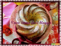 Ciambella alla panna e gocce di cioccolato, ricetta semplice
