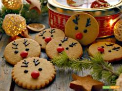 Biscotti renna, simpatici, facili e golosi