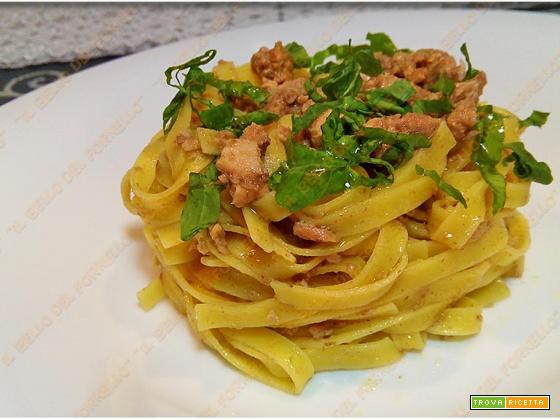 Pasta tonno e paté di olive taggiasche