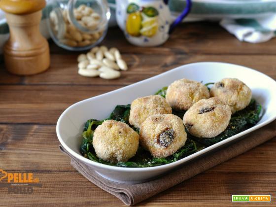 Polpette di carne con uvetta e mandorle