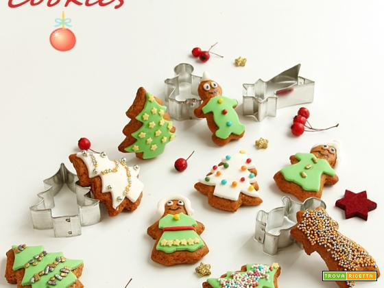 IDEE PER NATALE: GINGERBREAD  decorati in pdz