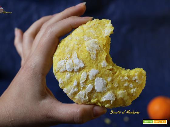 Biscotti al Mandarino facili e profumati