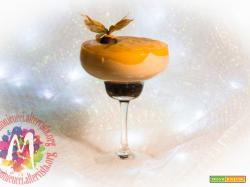 Cheesecake di Riso in bicchiere con cacao, nocciole, castagne e cachi – I Menù del SorRISO