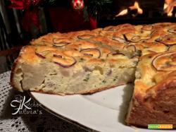 Torta salata al cavolfiore e ricotta, soffice e profumata