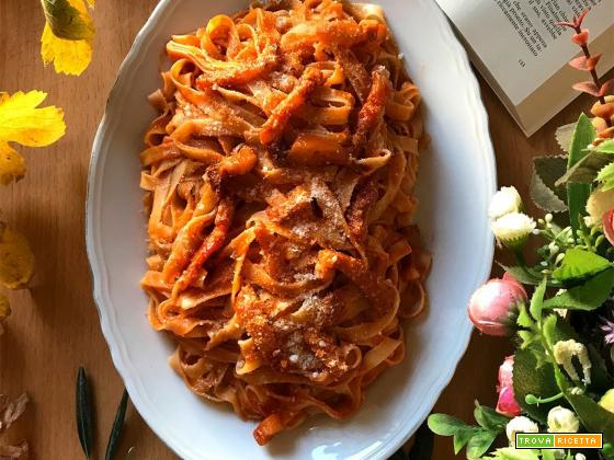 Fettuccine all'amatriciana