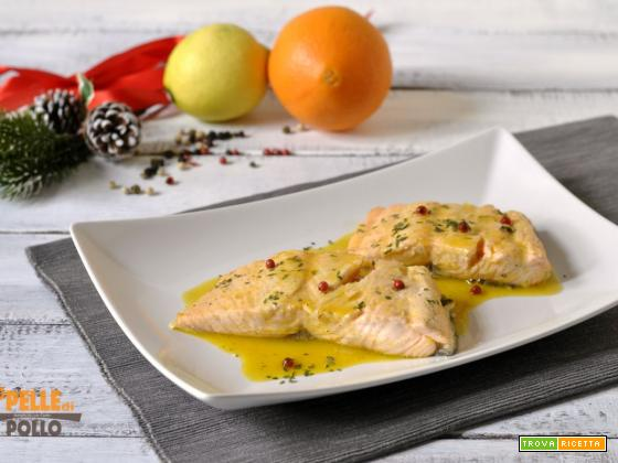 Filetto di salmone agli agrumi