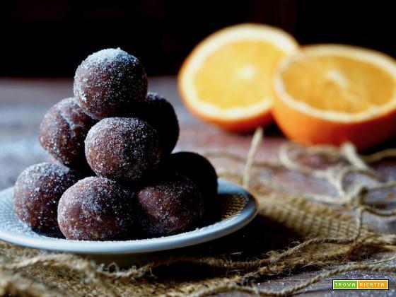 Palline Arancia e Cioccolato