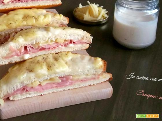 Croque monsieur – ricetta tradizionale francese