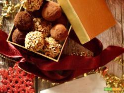 Tartufini al cioccolato da regalare
