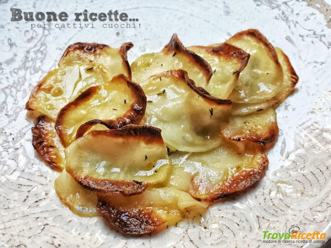 Ricetta Orata Sfilettata Al Forno Con Patate.Orata In Crosta Di Patate Ricetta Trovaricetta Com
