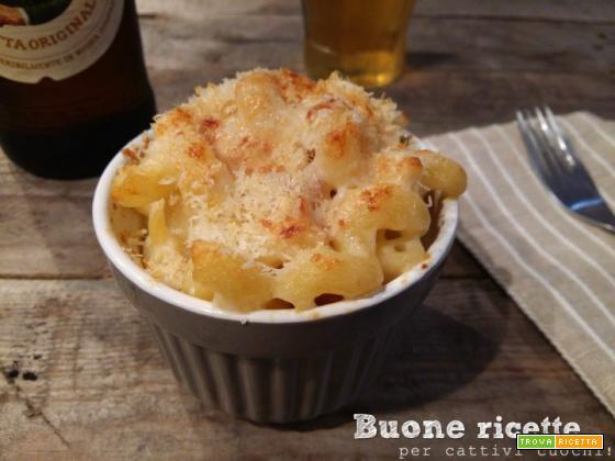 Pasta al forno - mac and cheese