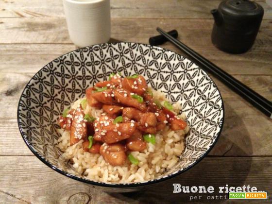 Pollo al sesamo: un classico orientale