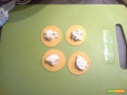 Ravioli ai quattro formaggi
