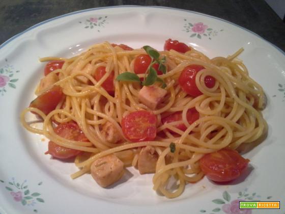Spaghetti spada pachino e maggiorana