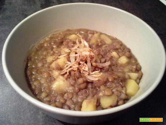 Zuppa di lenticchie - versione classica