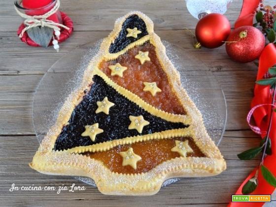 Dolce Di Natale Albero.Crostata Albero Di Natale Un Dolce Semplice Ricetta Trovaricetta Com