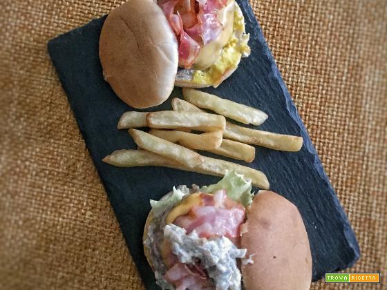 Hamburger ripieni di formaggio, ricetta