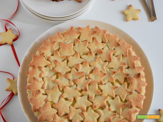 Crostata stellare alle mele e cannella