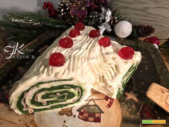 Tronchetto di Natale salato – Buche de Noel