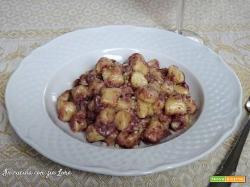 Gnocchi al Sagrantino ricetta umbra