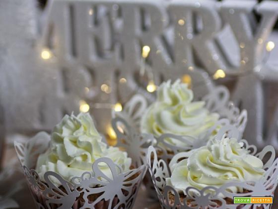 Cupcakes agli agrumi con frosting al formaggio e mandarino