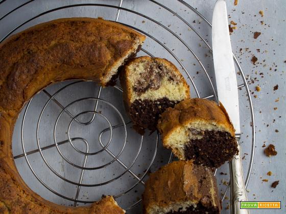 CIAMBELLA BICOLORE cacao e vaniglia