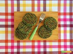 Hamburger di quinoa e spinaci