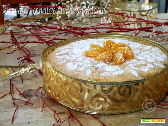 Torta morbida castagne e clementine