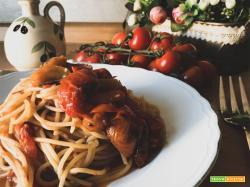Spaghetti al pomodoro arrostito