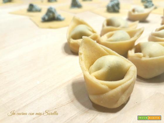 Tortelli ricotta e bietola – ricetta pasta fresca ripiena