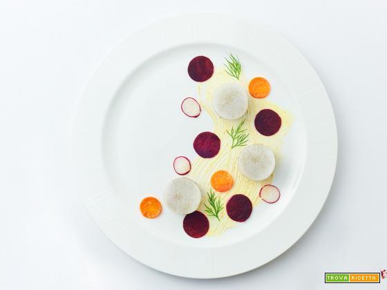 avvento – il patè ai funghi con verdure marinate